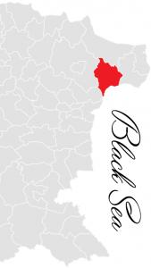 balchik municipality map - bulgarian black sea coast