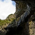 Devetashka cave - the holes above