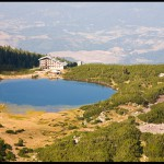 bezbojko lake - the mountain hut panorama