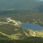 bezbojko lake - mountain panoramic view