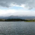 dushantsi dam - cloudy panorama