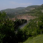iskar river gorge panoramic view