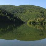 panoramic view of the Pasarel dam