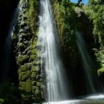 skoka waterfall - panoramic view