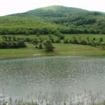 the coast of the smolsko dam