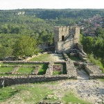 Tsarevets fortress - the remains