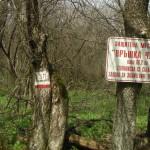 vrashka chuka peak - sign