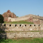 panoramic view of the Belogradchik fortress walls