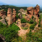 panoramic view of part of the Belogradchik rocks