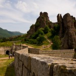 panoramic view of the Belogradchik fortress wall