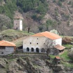 churilovo monastery saint george - panoramic view of the monastery grounds
