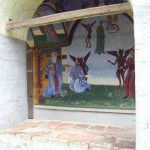 churilovo monastery saint george - ancient church murals