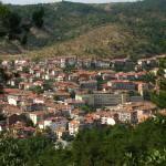panorama of the city of Blagoevgrad