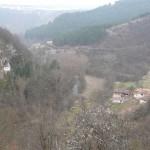razboish rock monastery - panoramic photo from the monastery