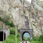 ritlite rocks - the railway tunnels in the rocks