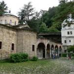 troyan monastery panorama