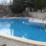 the spa resort of Pchelinski mineralni bani in the region of Sofia - Bulgaria