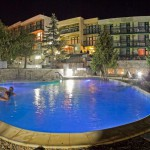 the spa resort of Pchelinski mineralni bani in the region of Sofia - Bulgaria