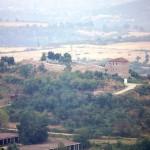 the ancient fortress of peristera on saint petka hill in the city of Peshtera Bulgaria