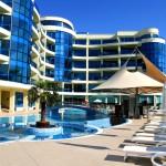 the Pomorie SPA resort in the blacksea region of Burgas - Bulgaria