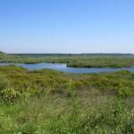 sreburna national reserve near the city of Silistra Bulgaria - part of the Via Pontica