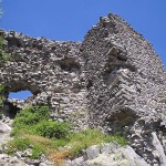 the ancient fortress of Ustra near the village of Ustren