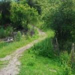 the tourist eco route down the Beli Iskar river in the beautiful Rila mountain in Bulgaria