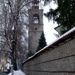 The monumental church of The Saint Trinity in the city of Bansko that was build during the Ottoman yoke
