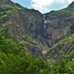 the tourist eco route of the city of Apriltsi and the Vidimsko pruskalo waterfall - the second biggest waterfall in Bulgaria