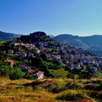 the ethnographic village of Momchilovtsi in the heart of the Rodopi mountains - Bulgaria