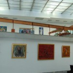 the art gallery named after one of the most famous Bulgarian painters - Vladimir Dimitrov The Master. City of Kyustendil - Bulgaria
