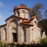 the medieval church of Saint George in the city of Kyustendil - Bulgaria