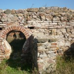 the ancient city of kabile near the town of Yambol - Bulgaria