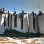 the monument honoring the battle of Stara Zagora during the Russian - Ottoman war