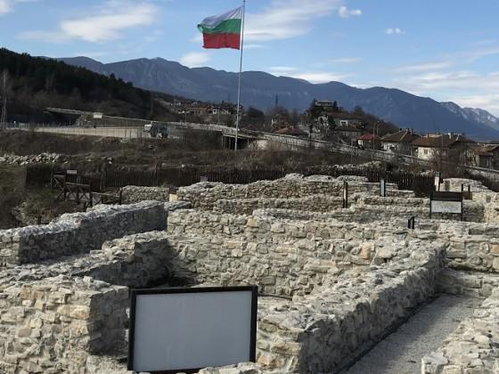 """Археологически комплекс """"Калето"""" – Мездра"""