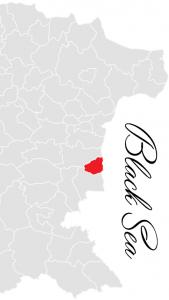 byala municipality map - bulgarian black sea coast