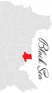 nesebyr municipality map - bulgarian black sea coast