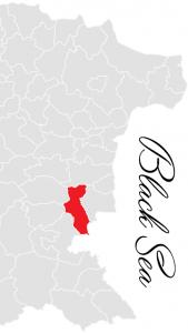 pomorie municipality map - bulgarian black sea coast