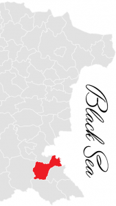 sozopol municipality map - bulgarian black sea coast