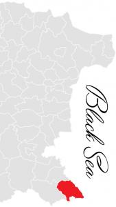 tsarevo municipality map - bulgarian black sea coast