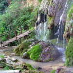 krushuna waterfalls - on the bridge