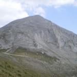 vihren peak - mountain top panorama