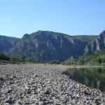 the arda river meanders - the coast near Madjarovo