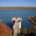 beli lom dam - panoramic view