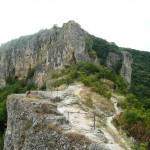 the road to the Rusenski Lom national park