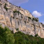 The Madara rider- panoramic view