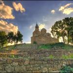 Tsarevets fortress - the church