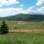 uzana region - the geo-center of Bulgaria panoramic view
