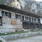 cherepish monastery inner yard and buildings