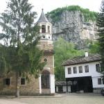 dryanovo monastery inner yard